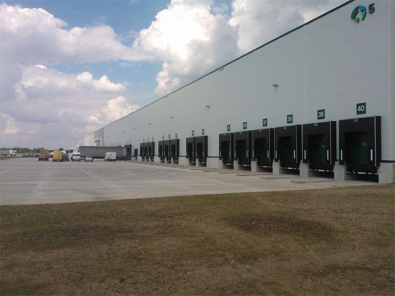 Centrum Logistyczne DC5 Prologis - Nowa Wieś Wrocławska - Plac zewnętrzny - 8 000 m2